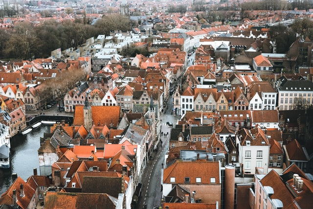 Overzicht Brugge - Prive chauffeur Brugge