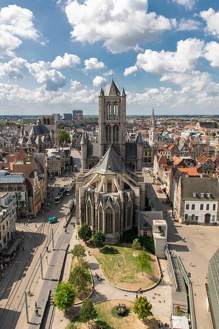 St Nikolaas kerk Gent - Prive chauffeur Gent